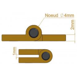 Charnière - Longueur 40 mm - Charnières
