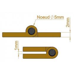 Charnière - Longueur 50 mm - Charnières