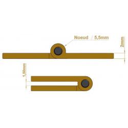 Charnière - Longueur 70 mm - Charnières