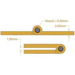 Charnière - Longueur 100 mm - Charnières