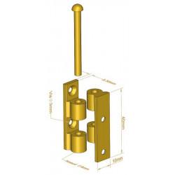 Charnière Universelle cylindrique 40 mm - Charnières