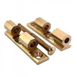 Charnière Universelle noeud à pans - 80 mm - Charnières