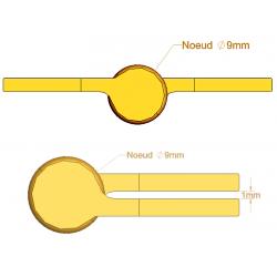 Paumelle Picarde - 80 mm - Paumelles de Bâtiment