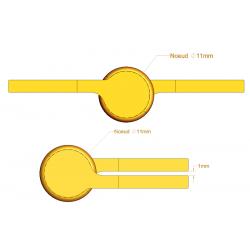 Paumelle Picarde - 110 mm - Paumelles de Bâtiment